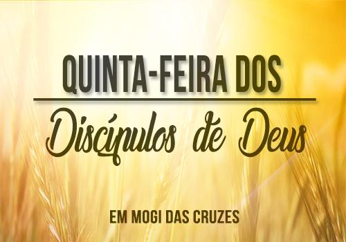 Quinta dos Discípulos de Deus em Mogi às 09:00h e 19:00h.