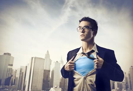 Homens, ou super-heróis?